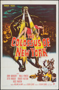 """Movie Posters:Science Fiction, The Colossus of New York (Paramount, 1958). One Sheet (27"""" X 41"""").Science Fiction.. ..."""