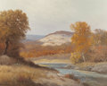 Texas:Early Texas Art - Regionalists, PORFIRIO SALINAS (American, 1910-1973). Golden Country CreekBed. Oil on canvas. 24 x 30 inches (61.0 x 76.2 cm). Signed...