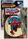Magazines:Superhero, Spectacular Spider-Man #1 and 2 Group (Marvel, 1968) Condition:Average FN/VF.... (Total: 2 Items)
