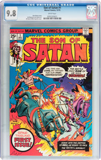 Son of Satan #1 (Marvel, 1975) CGC NM/MT 9.8 White pages
