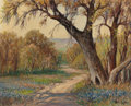 Texas:Early Texas Art - Regionalists, ROLLA SIMS TAYLOR (American, 1872-1970). The Old Oak, SanAntonio. Oil on canvas. 16 x 20 inches (40.6 x 50.8 cm).Signe...