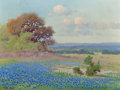 Paintings, ROBERT WILLIAM WOOD (American, 1889-1979). Spring in the Texas Hill Country. Oil on canvas. 12 x 16 inches (30.5 x 40.6 ...