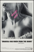 "Movie Posters:Horror, Dracula Has Risen from the Grave (Warner Brothers, 1969). One Sheet(27"" X 41""). Horror.. ..."