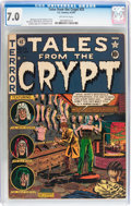 Golden Age (1938-1955):Horror, Tales From the Crypt #25 (EC, 1951) CGC FN/VF 7.0 Off-whitepages....