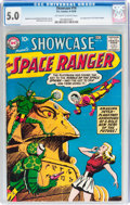 Silver Age (1956-1969):Science Fiction, Showcase #16 Space Ranger (DC, 1958) CGC VG/FN 5.0 Off-white to white pages....