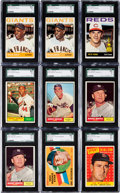 Baseball Cards:Lots, 1957 - 1965 Topps Baseball Shoe Box Collection (1,300+). ...