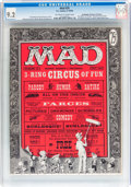 Magazines:Mad, Mad #29 Don/Maggie Thompson Collection pedigree (EC, 1956) CGC NM-9.2 Off-white to white pages....