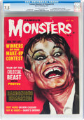 Magazines:Horror, Famous Monsters of Filmland #18 Don/Maggie Thompson Collection pedigree (Warren, 1962) CGC VF- 7.5 Off-white to white pages....