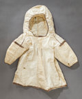 American Indian Art:War Shirts/Garments, AN ESKIMO CHILD'S HOODED PARKA. c. 1900...