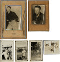 Baseball Collectibles:Photos, 1930's-40's Mickey Mantle Childhood Photographs Lot of 6....