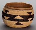 American Indian Art:Baskets, A NORTHERN CALIFORNIA TWINED BOWL...