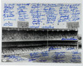 Autographs:Photos, Circa 2000 New York Yankees Multi Signed Photograph....