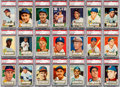 Baseball Cards:Sets, 1952 Topps Baseball Low & Middle Series Near Set (306/310). ...