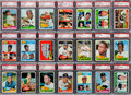 Baseball Cards:Sets, 1965 Topps Baseball High Grade Complete Set (598) With 240 PSAGraded Cards. ...