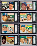 Baseball Cards:Sets, 1956 Topps Baseball High Grade Collection (57) With Many Stars andHoFers. ...