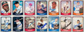Baseball Cards:Autographs, 1988-90 Pacific Baseball Greats Complete Sets (330) With 288 Autographed! ...