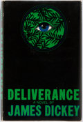 Books:Literature 1900-up, James Dickey. Deliverance. Boston: Houghton Mifflin, 1970.First edition, first printing. Publisher's cloth and orig...
