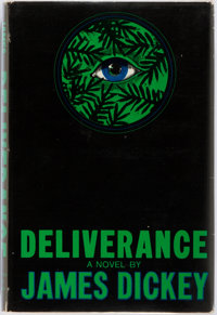James Dickey. Deliverance. Boston: Houghton Mifflin, 1970. First edition, first printing. Publi