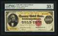 Large Size:Gold Certificates, Fr. 1212 $100 1882 Gold Certificate PMG Choice Very Fine 35 EPQ.. ...