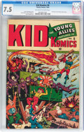 Golden Age (1938-1955):War, Kid Komics #6 (Timely, 1944) CGC VF- 7.5 Off-white to white pages....