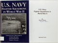 Books:Americana & American History, Barrett Tillman. SIGNED. U.S. Navy Fighter Squadrons in WorldWar II. Specialty Press, [1997]. First edition. Sign...