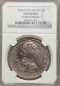 Mexico, Mexico: Charles III 8 Reales 1788 Mo-FM AU Details (Chopmarked)NGC,...