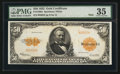 Large Size:Gold Certificates, Fr. 1200a $50 1922 Gold Certificate PMG Choice Very Fine 35.. ...