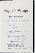 Books:Biography & Memoir, Hajo Herrmann. INSCRIBED. Eagle's Wing. The Autobiography of aLuftwaffe Pilot. Motorbooks International, [1991]. Fi...