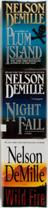 Books:Mystery & Detective Fiction, Nelson DeMille. Group of Three Signed First Editions. New York:Warner Books, 1997-2006. First editions. Signed. Octavos. Pu...(Total: 3 Items)