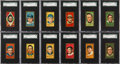 Baseball Cards:Sets, 1911 T205 Gold Border Partial Set (53) With HoFers & A Pair ofScarcities....