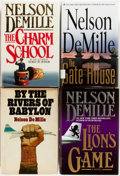 Books:Mystery & Detective Fiction, Nelson DeMille. Group of Four SIGNED First Editions. Various Publishers, 1978-2008. First editions. Signed. Publisher's bind... (Total: 4 Items)