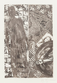 JASPER JOHNS (American, b. 1930) Wallace Stevens, Poems, 1985 Limited edition book with frontispiece