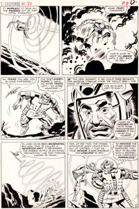 Don Heck and Wally Wood Tales of Suspense #71 Page 8 Original Art (Marvel, 1965)
