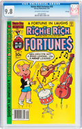 Modern Age (1980-Present):Humor, Richie Rich Fortunes #58 File Copy (Harvey, 1981) CGC NM/MT 9.8Off-white to white pages....