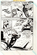 "Original Comic Art:Panel Pages, Sam Glanzman G.I. Combat #212 Pages 32-43 ""A Tank for a Pharaoh"" Partial Haunted Tank Story Original Art Group (DC... (Total: 12 Original Art)"