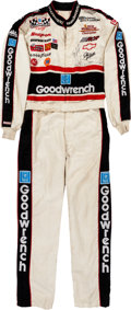 Miscellaneous Collectibles:General, 1994 Dale Earnhardt Sr. Race Worn Signed Racing Suit. ...