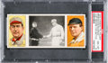 Baseball Cards:Singles (Pre-1930), 1912 T202 Hassan Bresnahan/McGraw Just Before The Battle PSANM-MT 8....