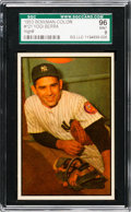 Baseball Cards:Singles (1950-1959), 1953 Bowman Color Yogi Berra #121 SGC 96 Mint 9 - Pop Two, NoneHigher! ...
