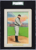 Baseball Cards:Singles (Pre-1930), 1910 T3 Turkey Red Cabinet Ty Cobb #9 Checklist Back SGC 45 VG+3.5....