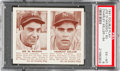 Baseball Cards:Singles (1940-1949), 1941 Double Play DiMaggio/Keller #63/64 PSA EX-MT 6....