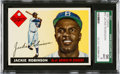 Baseball Cards:Singles (1950-1959), 1955 Topps Jackie Robinson #50 SGC 96 Mint 9....