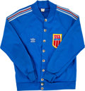 Basketball Collectibles:Uniforms, Late 1960's Ernie DiGregorio Game Worn United States AAU Warm UpJacket - Worn Vs. Russia....