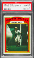 Baseball Cards:Singles (1970-Now), 1972 Topps World Series Game 4 (Clemente) #226 PSA Gem Mint 10....