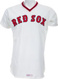 Baseball Collectibles:Uniforms, 1978 Ted Williams Game Worn Boston Red Sox Coach's/Old Timers Uniform....