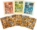 """Non-Sport Cards:Sets, 1961 Nu-Cards """"Horror Monsters"""" Uncut Sheets Collection (15). ..."""