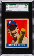 Baseball Cards:Singles (1940-1949), 1948 Leaf Harold Reiser SP #146 SGC 10 Poor 1....