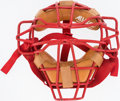 Baseball Collectibles:Others, Darren Daulton Signed Catcher's Mask....