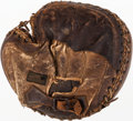 Baseball Collectibles:Others, Early 1900's Baseball Catcher's Mitt....