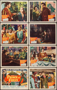 "Prince of Foxes (20th Century Fox, 1949). Lobby Card Set of 8 (11"" X 14""). Adventure. ... (Total: 8 Items)"
