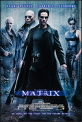 "Movie Posters:Science Fiction, The Matrix (Warner Brothers, 1999). One Sheet (27"" X 40"") DSAdvance. Science Fiction.. ..."